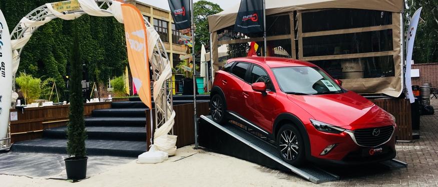 Mazda Govaerts Sint-Truiden op College Beach Bar Tienen