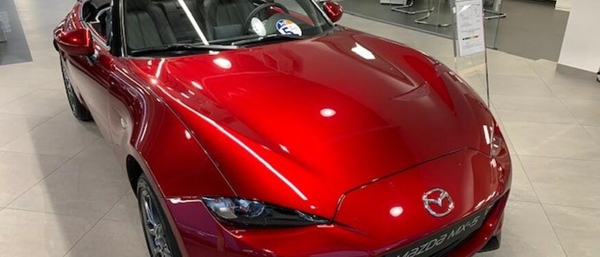 Onze Mazda MX-5 Stockwagens