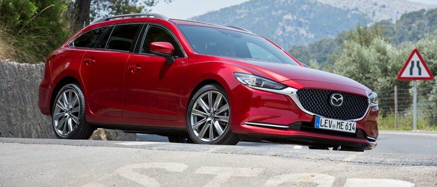 Mazda6, één van de veiligste gezinsauto's
